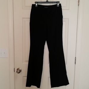 White House Black Market Flare Leg Black Pants